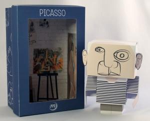 Création d'un Paper Toy à destination des enfants.